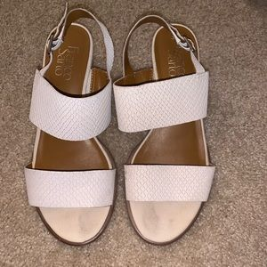 Franco Sarto sandals (size 6.5) almost like new